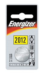 ENERGIZER CR2012 LITHIUM COIN BATTERY (Pack of 1)