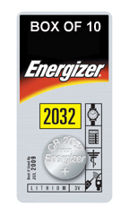 ENERGIZER CR2032 LITHIUM COIN BATTERY (Pack of 1)