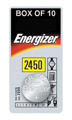 ENERGIZER CR2450 LITHIUM COIN BATTERY (Pack of 1)