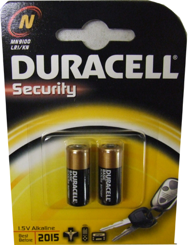 LR1-N-MN9100 DURACELL BATTERY TWIN PACK