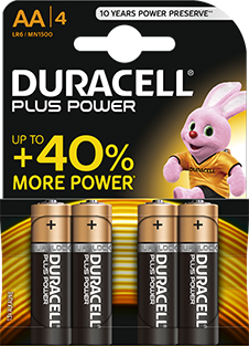 AA-LR6-MN1500 DURACELL PLUS