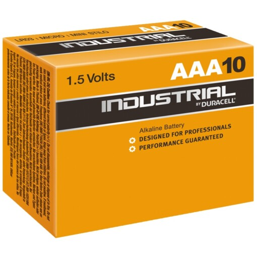 AAA-LR03-MN2400 - DURACELL INDUSTRIAL BATTERIES (10)