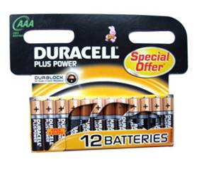 DURACELL 12 x AAA SPECIAL MULTI PACK