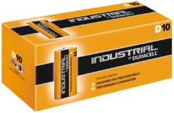 D-LR20-MN1300 DURACELL INDUSTRIAL BATTERIES (10)