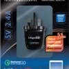 USB Intelligent Mains Qualcomm Quick Charger 5v 2.4A