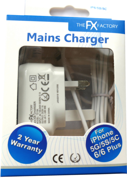 Mains Charger for iPhone 4G and 30pin Devices
