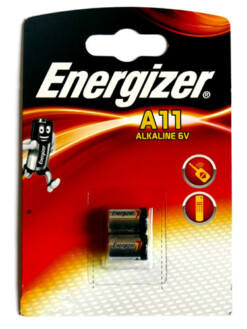 A11 / E11A  ENERGIZER BATTERY TWIN PACK