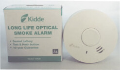 SMOKE ALARM LONG LIFE OPTICAL WITH 10 YEAR BATTERY (10Y29)