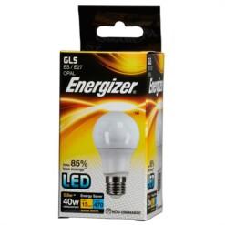 Energizer S8859 470LM 5.6W Warm White GLS E27 LED Lamp