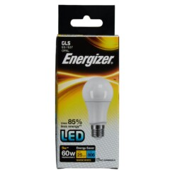 Energizer S8863 806LM 9.2W Warm White GLS E27 LED Lamp