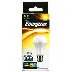 Energizer S8865 12.5W Warm White GLS B22 LED Lamp