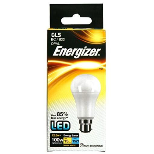 Energizer S8865 12.5W Warm White GLS B22 LED Lamp
