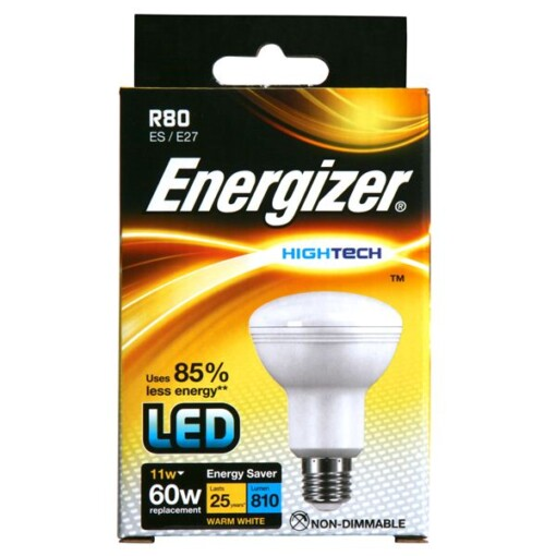 Reflector LED R80 11W S9016 ENERGIZER